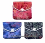 Chinese Silk Purses - Flowers (Set of 3) #18