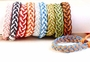 String Braided Bracelets (Set of 10) #112