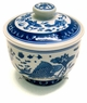 Chinese Porcelain Jar - Fish & Lotus #4