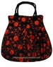 Large Chinese Silk Bag - Flowers #114