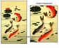 Chinese Silk GongBi Painting - Fish & Lotus #31
