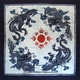 Chinese Batik Wall Hanging - Dragon & Phoenix  #19