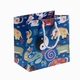 Chinese Peasant Painting Gift Bag - 12 Chinese Zodiac Symbols #1
