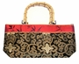 Chinese Silk Handbag - Wealth Flowers #130