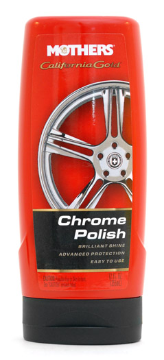 Mothers Chrome Polish Is An Easy To Use Liquid Metal