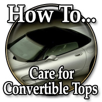 How To Care For Your Convertible Top