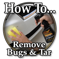 How To Remove Bugs and Tar