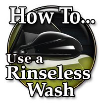 How To Use A Rinseless Wash