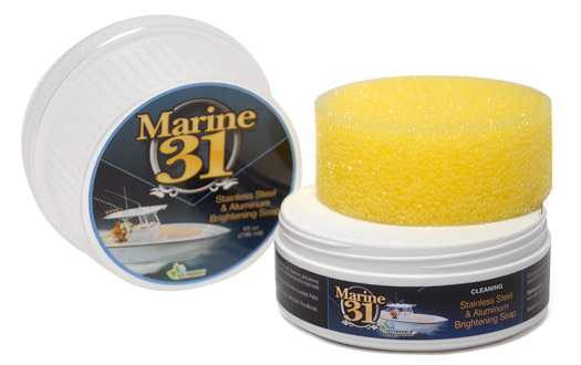 Marine 31 Stainless Steel & Aluminum Brightening Soap