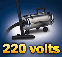 220 Volt Metro Stainless Compact Canister Vaccum <font color=red>For Export Only</font>