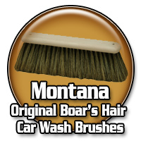 Montana Original Boar's Hair Car Wash Brushes