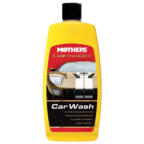 Mothers California Gold Car Wash Is A Rich Foaming Car Shampoo