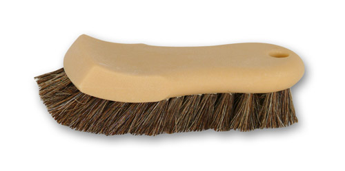 Wheel Woolies Leather Upholstery Natural Horse Hair Brush Safe and Gentle Soft