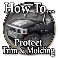 Proper Care of Trim & Molding