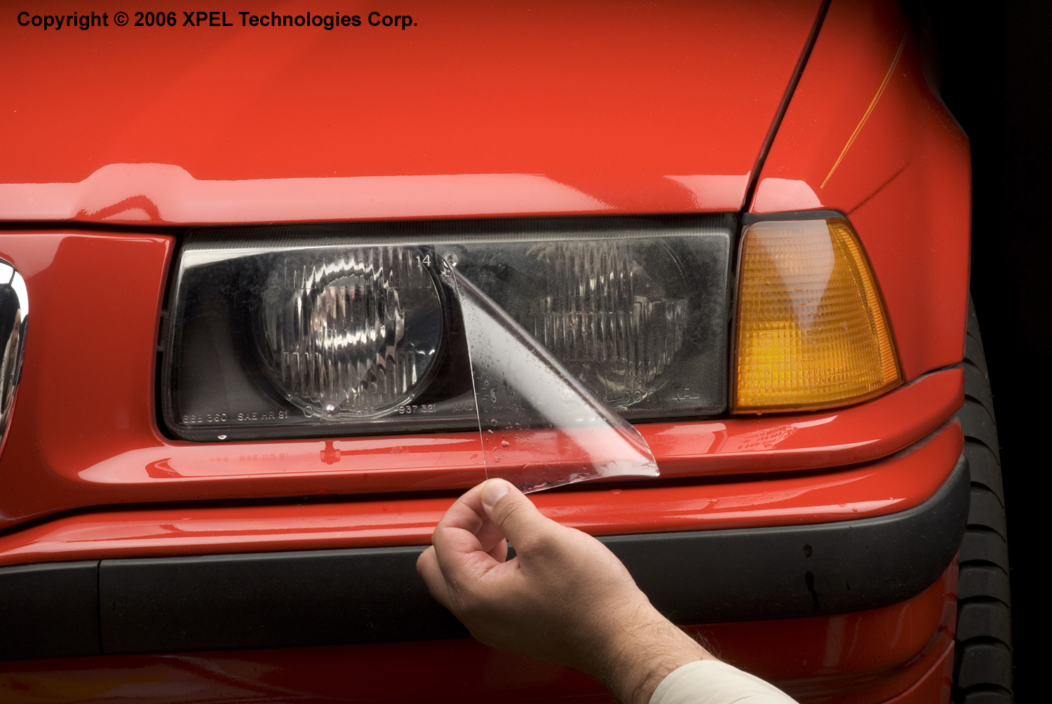 XPEL H1918 Clear Headlamp and Fog Lamp Protection Kit