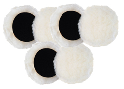 6 Pack  Cyclo 4 inch Light Cutting Wool Pads