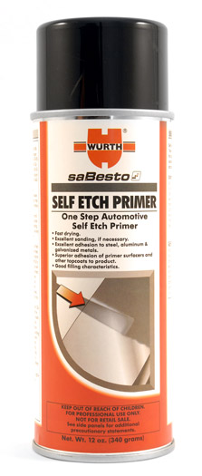 Wurth Self Etch Primer Self Etching Primer Metal Primer