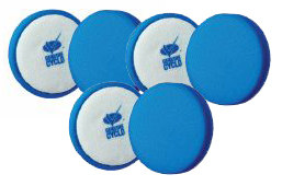 6 Pack Cyclo Premium Blue Foam Pads