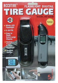 Accutire Professional Metal Digital Tire Gauge