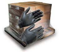 Black Nitrile Gloves By The Case