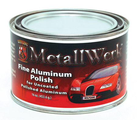 Wolfgang Metallwerk Fine Aluminum Polish For Weathered