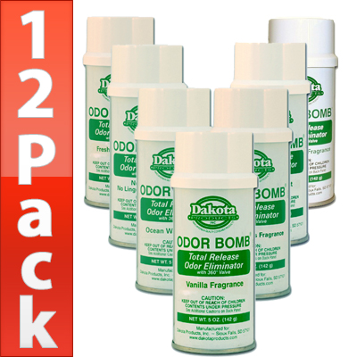 new car total release odor eliminator12 Pack Dakota Odor Bomb Odor Eliminator
