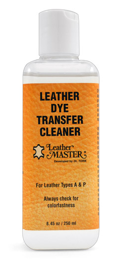 Leather Master Dye Transfer Remover, Leather Cleaner, Dye