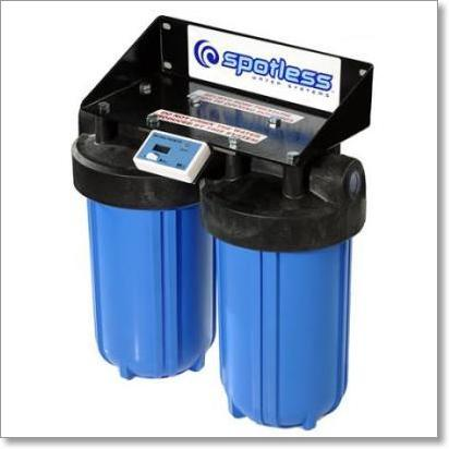 Cr Spotless Wall Mount De Ionized Water Filtration System