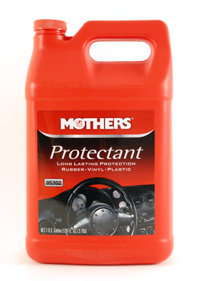 Mothers Protectant For Rubber Vinyl Plastic Interior