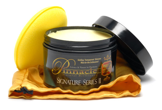pinnacle signature series ii carnauba paste wax will give you a deep wet finish will exceed. Black Bedroom Furniture Sets. Home Design Ideas