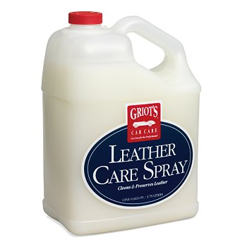 Griot S Garage Leather Care Spray Gallon Griots Leather
