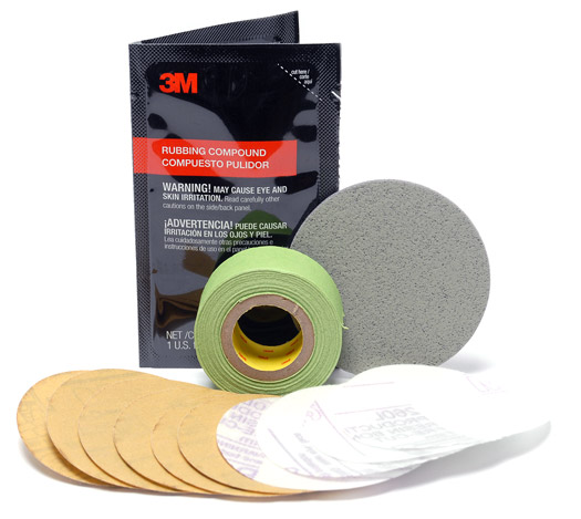 3m headlight lens refill kit 39049