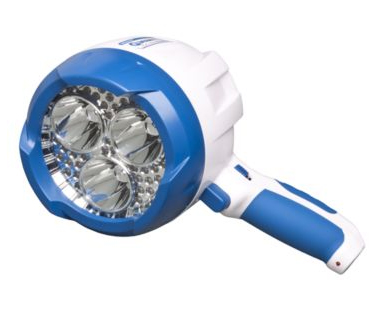 Brinkmann Maxfire Q Beam Led Marine Rechargeable Spotlight