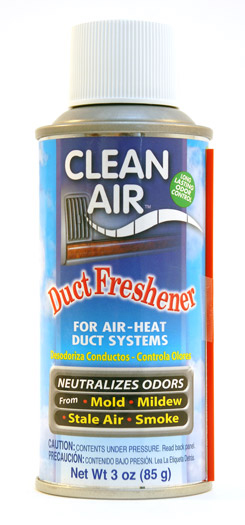Clean Air Eliminates Odors Throughout Cooling Heating System