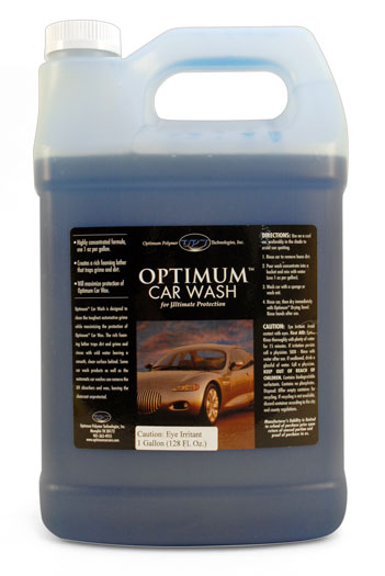 Optimum Car Wash Gallon Concentrated Auto Shampoo With Optimum