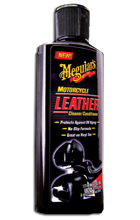 Meguiars Motorcycle Leather Cleaner Conditioner Leather