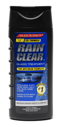 Glass Science Rain Clear Windshield Repellant Gel Glass