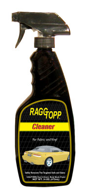 How To Clean Amp Protect Your Convertible Top With Raggtopp