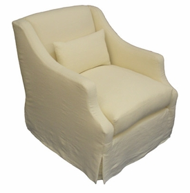 Upholstered chairs by taylor scott nursery chair glider for Audrey bella chaise