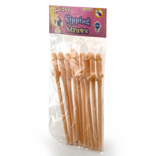 10 Penis Straws - Have A Giant Suck Festival
