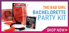 The Bad Girl Bachelorette Party Kit