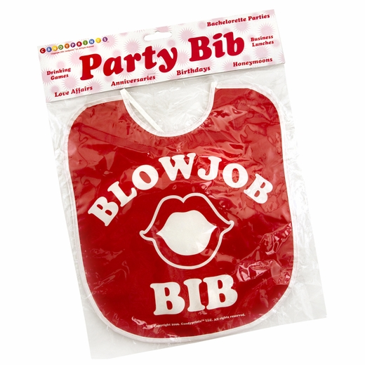 The Blow Job Bib