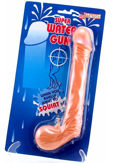 Penis Water Gun - Squirt Some Guy In The Eye!