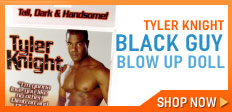 Black Guy Blow Up Doll