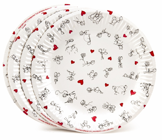 Dirty Dishes Sex Position Plates - 8