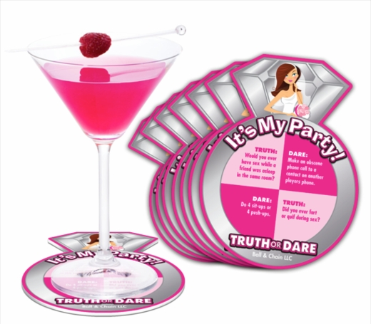 Bride-To-Be Truth or Dare Coasters