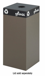 Safco Public Square  Recycling Receptacle - click to enlarge