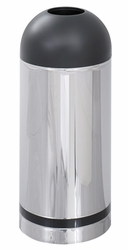 Safco Reflections Open Top Dome Receptacle - click to enlarge