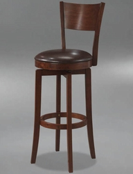 Hillsdale Archer Swivel Bar Height Stool in Brown - 4166-830 - click to enlarge