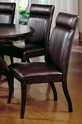 Dark Walnut Hillsdale Nottingham Side Chair - Set of 2 - click to enlarge